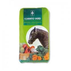 Abono orgánico estiércol de caballo