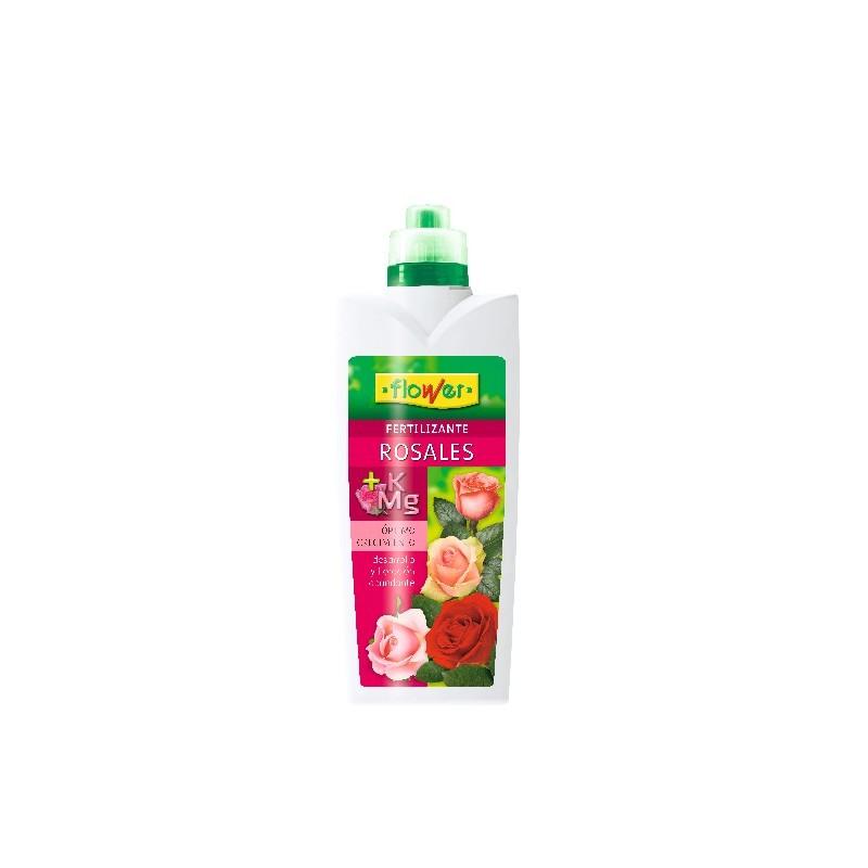 Abono líquido rosales