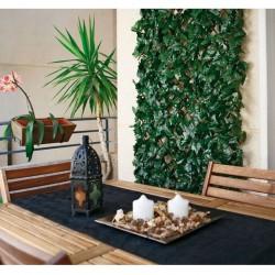 Celosía extensible con hojas