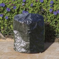 Funda barbacoa de carbón polietileno