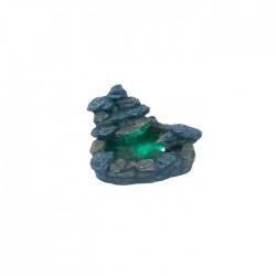 Fuente rocalla gris pequeña