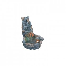 Fuente rocalla gris grande