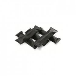 Trozos de leña para chimenea móvil de jardín