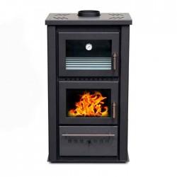 Estufa de leña con horno N990