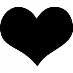 Pizarra pared corazón