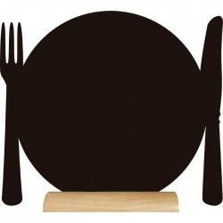 Pizarra de mesa Plato