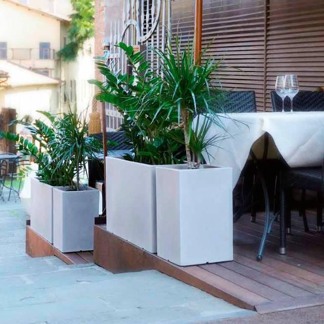 Jardinera interior venta jardinera cuadrada de madera - Jardineras de interior ...