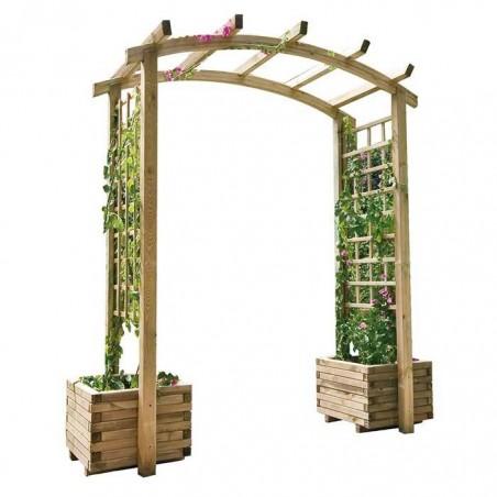 Jardinera con Doble Arco