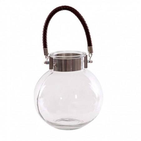 Portavela cristal esfera con asa