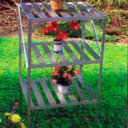 Estantería de aluminio para invernadero