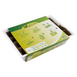 Kit semillero con macetas de turba