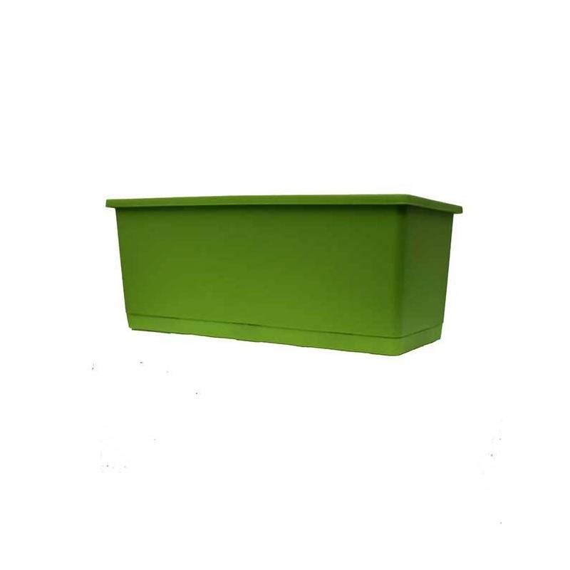 Jardinera mini con plato integrado