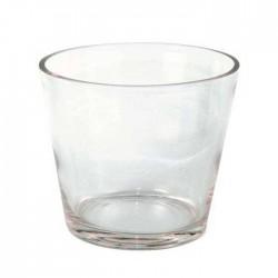Jarrón cristal vaso.