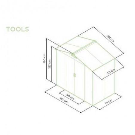 Caseta metálica tools