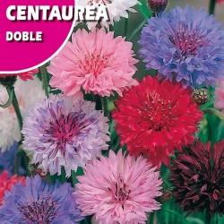 Semillas centaurea doble variada