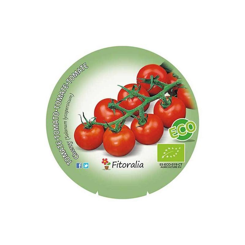 Tomate cherry redondo ecológico