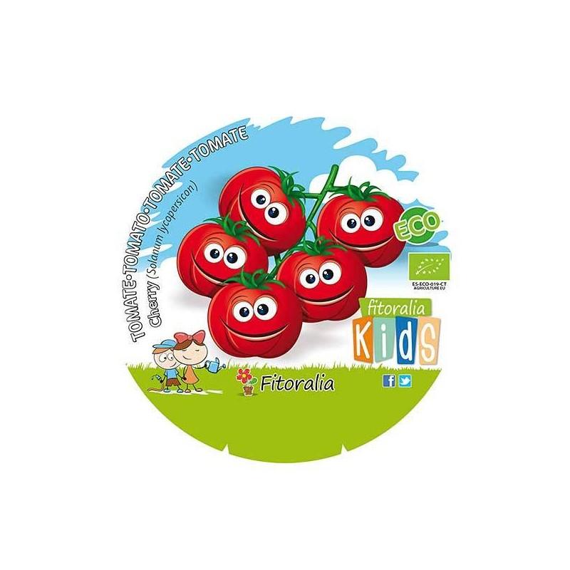 Tomate cherry ecológico