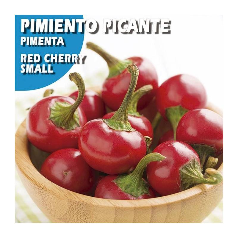Semillas pimiento picante red cherry small