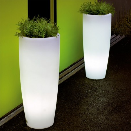 Macetero cono bambú light
