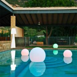 Lámpara buly solar flotante