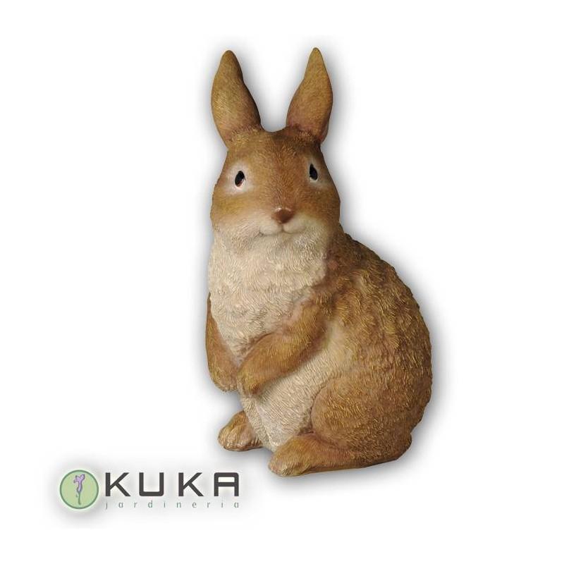 Figura conejo de pie