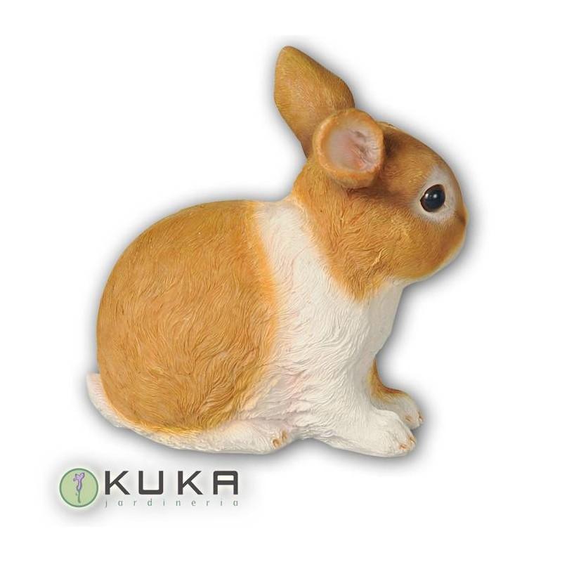 Figura conejo sentado