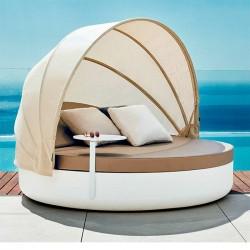 DAYBED cama reclinable con parasol plegable