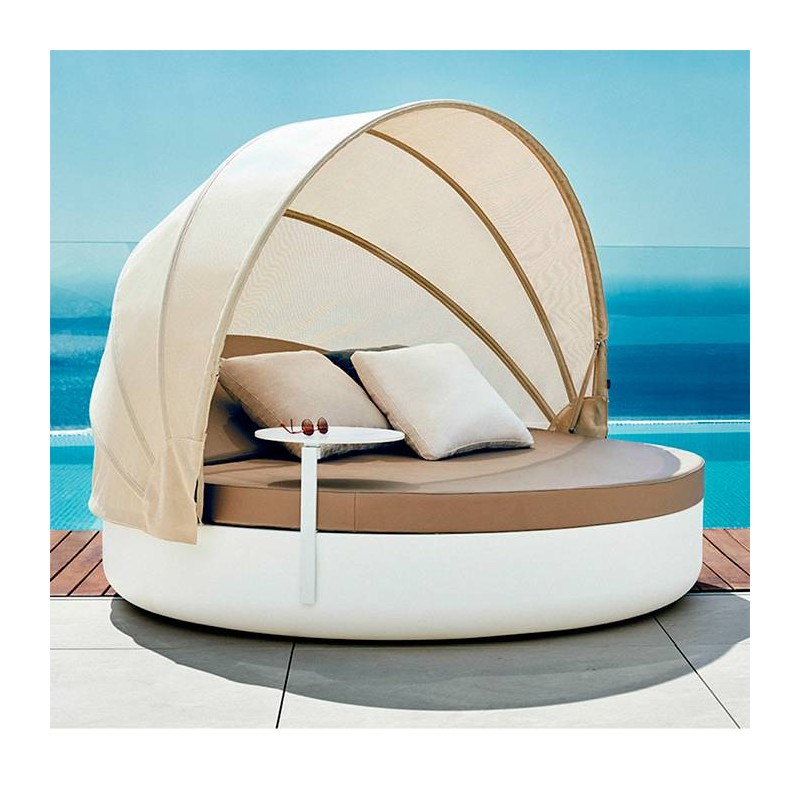 DAYBED cama reclinable con parasol plegable