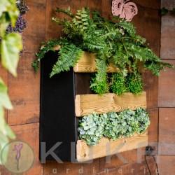 Huerto urbano jardín vertical
