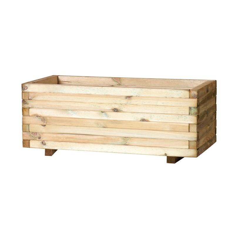 Casa y jard n macetas jardineras de maderas jardinera for Jardinera de madera vertical