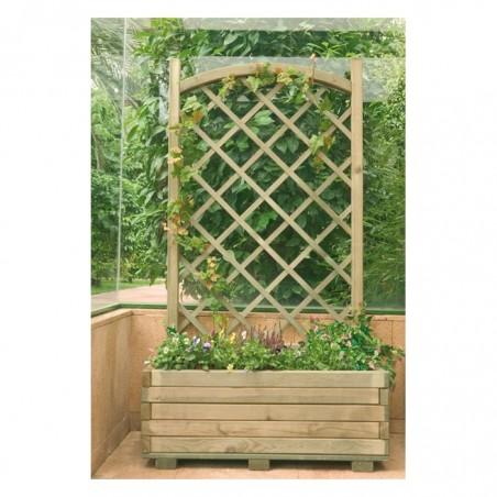 Jardinera Celosía en Arco