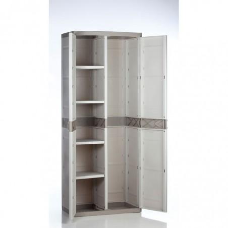 Armario 70cm.4 estantes titanium