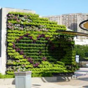 Jard n vertical huerto urbano - Jardineras huerto urbano ...