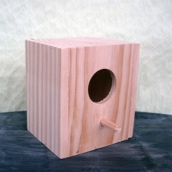 Nido de madera para tropicales o exoticos