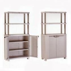 Medio armario 90 cm. con estanteria