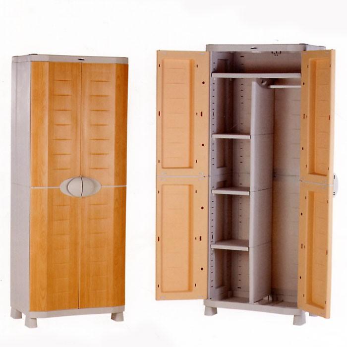 Armario escobero para exterior armario de aluminio para for Armarios para exterior carrefour