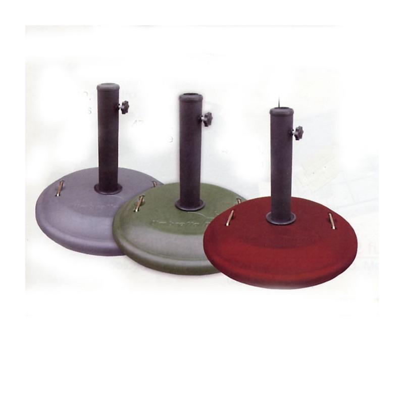Base de sombrilla redonda - Base para sombrilla ...