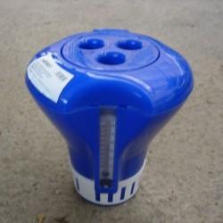 Dosificador flotante con termómetro