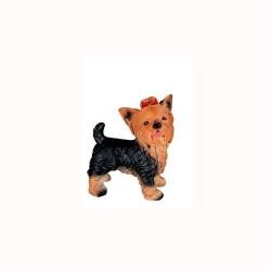 Figura perro yorshire de pie