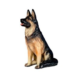 Figura perro pastor alemán
