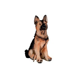 Figura perro pastor alemán...