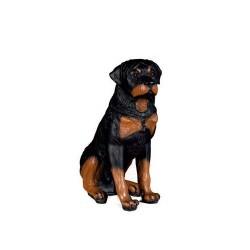 Figura perro rottweiler...