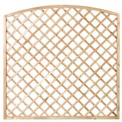 Panel celosía forma de arco