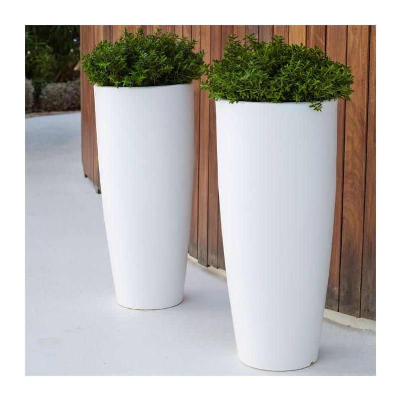 Macetero cono alto bamb maceta jard n maceta new garden - Maceteros de resina ...