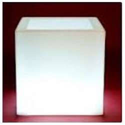 Macetero cubo LED RGB DMX...