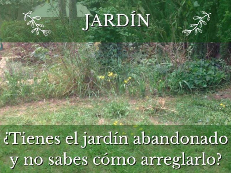 jardín abandonado