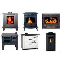 Estufas, cocinas y recuperadores de calor a leña